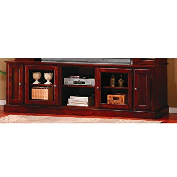 Amazon.com: Wall Units TV Console with Doors and Shelves: Kitchen ...