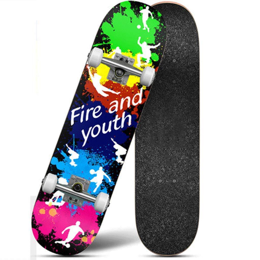 (訳ありセール 格安) 四輪のスケートボードの子供と青年初心者のブラシストリートをプロフェッショナル男性大人の女の子バイラテラルティルトロードスケートボード (色 : (色 Passion Moonlight) B07L4NQ69V Passion : Passion, 瀬戸内れもん:fa6a8c34 --- a0267596.xsph.ru