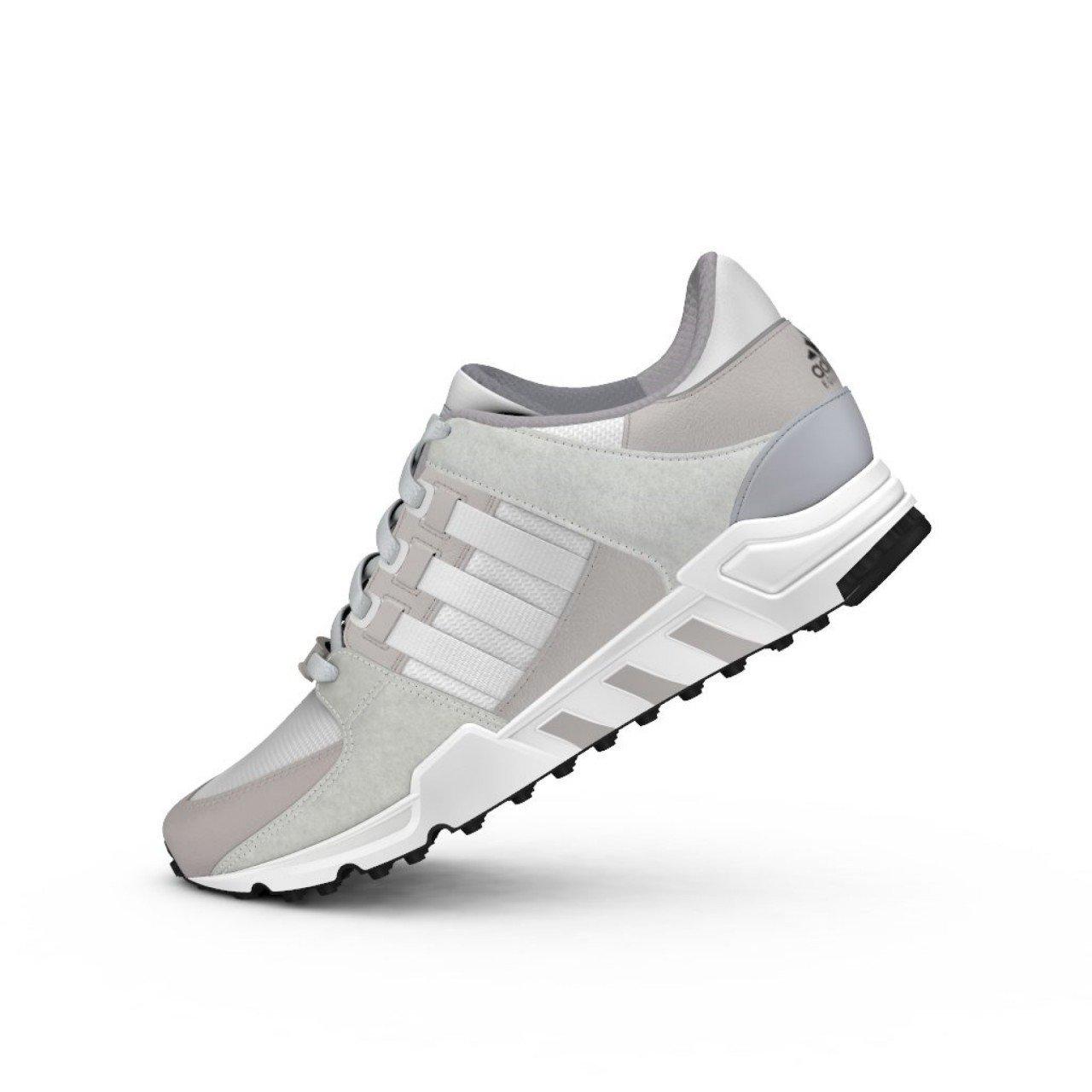 Adidas Herren Weiß EQT Support ADV Sneaker Weiß Herren 160821