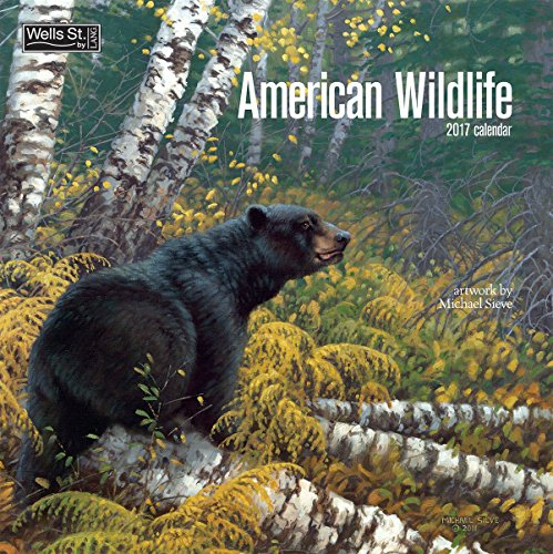 Wells Street by Lang 2017 American Wildlife Wall Calendar, 12 x 12 inches, January to December 2017 (17997001720)