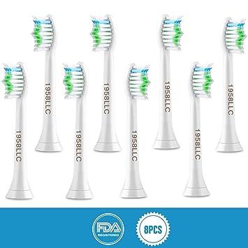 Cabezales de repuesto para cepillos de dientes estándar para ...
