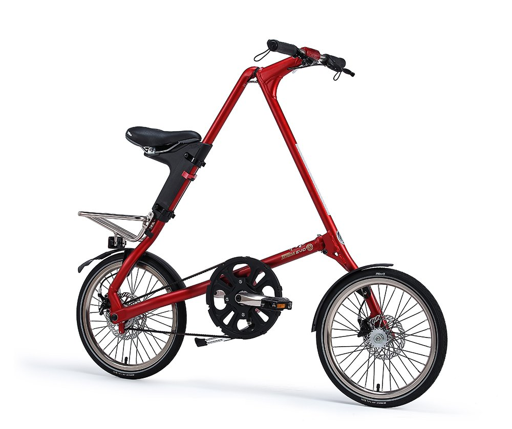 STRIDA(ストライダ) 折りたたみ自転車 18インチ 内装3段変速 STRIDA EVO18 アルミフレーム (RUBY)   B079WP37QN