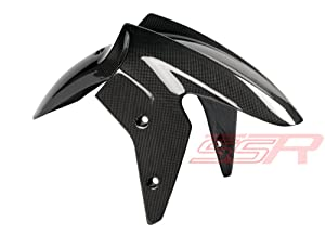 2008-2012 Kawasaki Ninja 250R EX250 Carbon Fiber Fibre Front Mudguard Fender Fairing