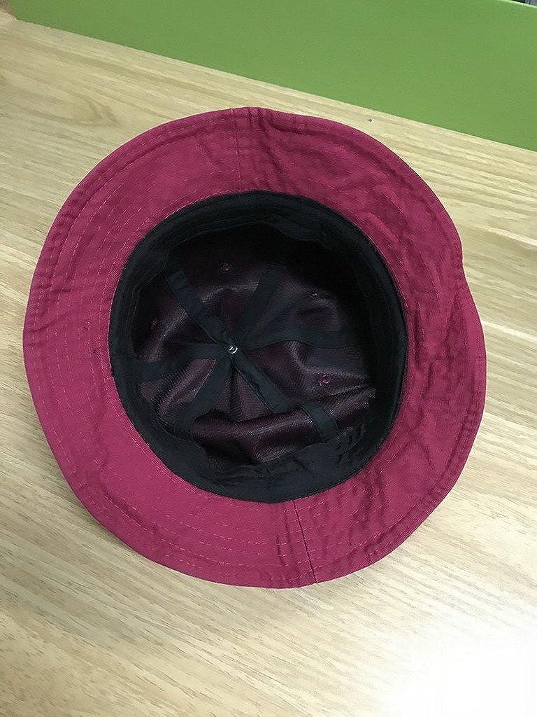 AOYOMO Women Mens Foldable Beach Sun Floppy Hat Hip-Hop Bucket Cap