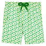 Vilebrequin Micro Turtles Hawaï Swim Shorts - Boys - Veronese Green - 8Yrs