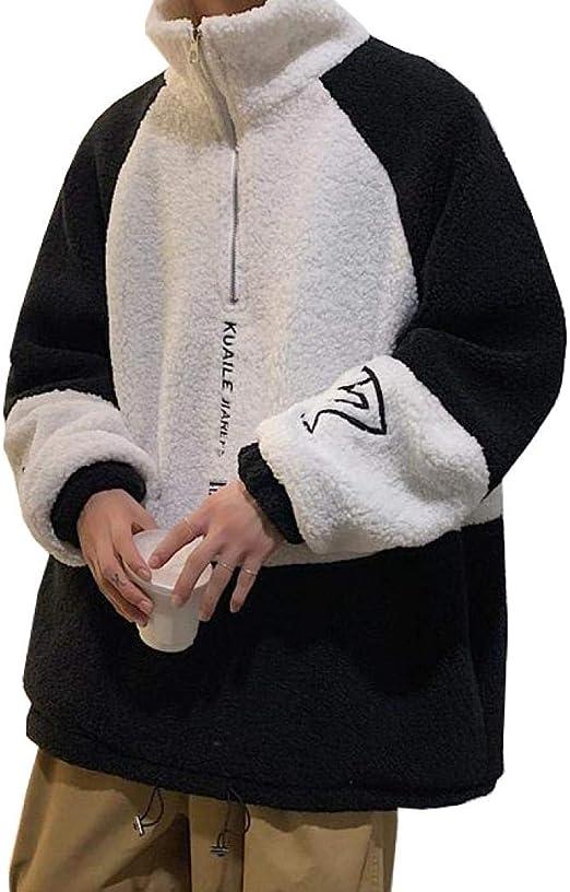 Aculldo ボアコート メンズ ジャケット パーカー ボアブルゾン もこもこ 防寒コート ボア ショート丈 アウター 暖かい 厚手 学生 大きいサイズ 秋冬 通勤 通学
