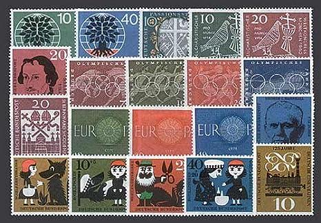 Goldhahn BRD Bund Jahrgang 1960 postfrisch ** MNH komplett Briefmarken für Sammler