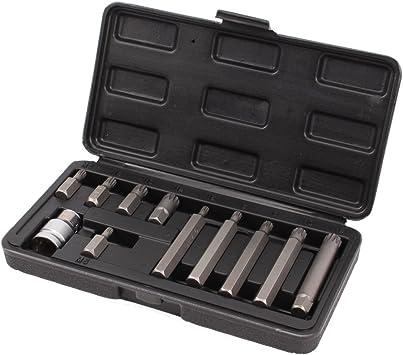 CCLIFE 11 piezas 1/2 adaptador para puntas con puntas de ...