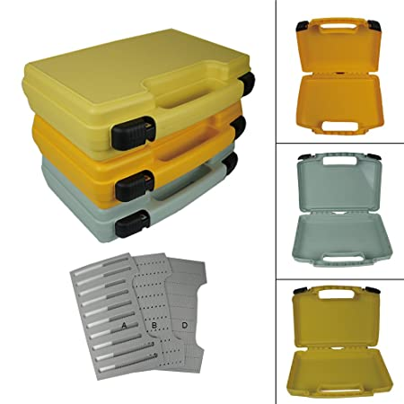 Aventik Streamer Fly Box Super Large Fly Fishing Box in Three Colors with Three Different Foams Boat Fishing Box14X11X3.35 inch