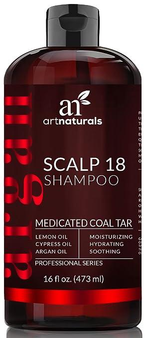 43 opinioni per Art Naturals Scalp18 Shampoo Terapeutico Anti Forfora Al Catrame Di Carbone 473