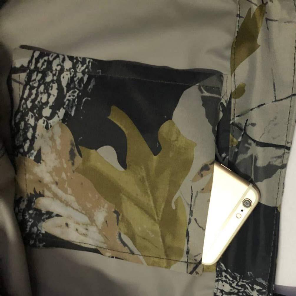 Sport Tent Wathose mit Stiefeln Anglerhose Camouflage Bis Brust Wasserdichter Watstiefel Angeln Teichhose Gr/ö/ße 38-47