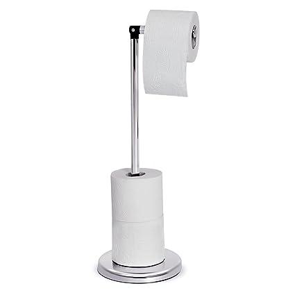 Ordinaire Tatkraft Ingrid Toilet Paper Stand Storage Toilet Paper Roll Holder Chrome