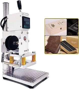 Digital Hot Foil Stamping Machine 110V Manual Bronzing Machine /& Holder 5*7cm
