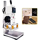 Upgraded Hot Foil Stamping Machine 10x13cm Leather Bronzing Pressure Mark Machine 110V with Full Scale on The Base Plate…