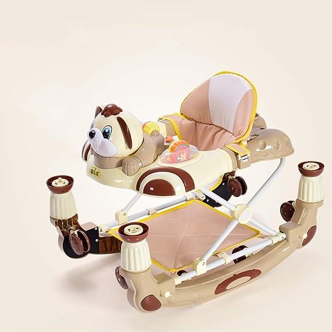 LMSTC Andador for bebés, 6-7-12-18 Meses de Cochecito de ...