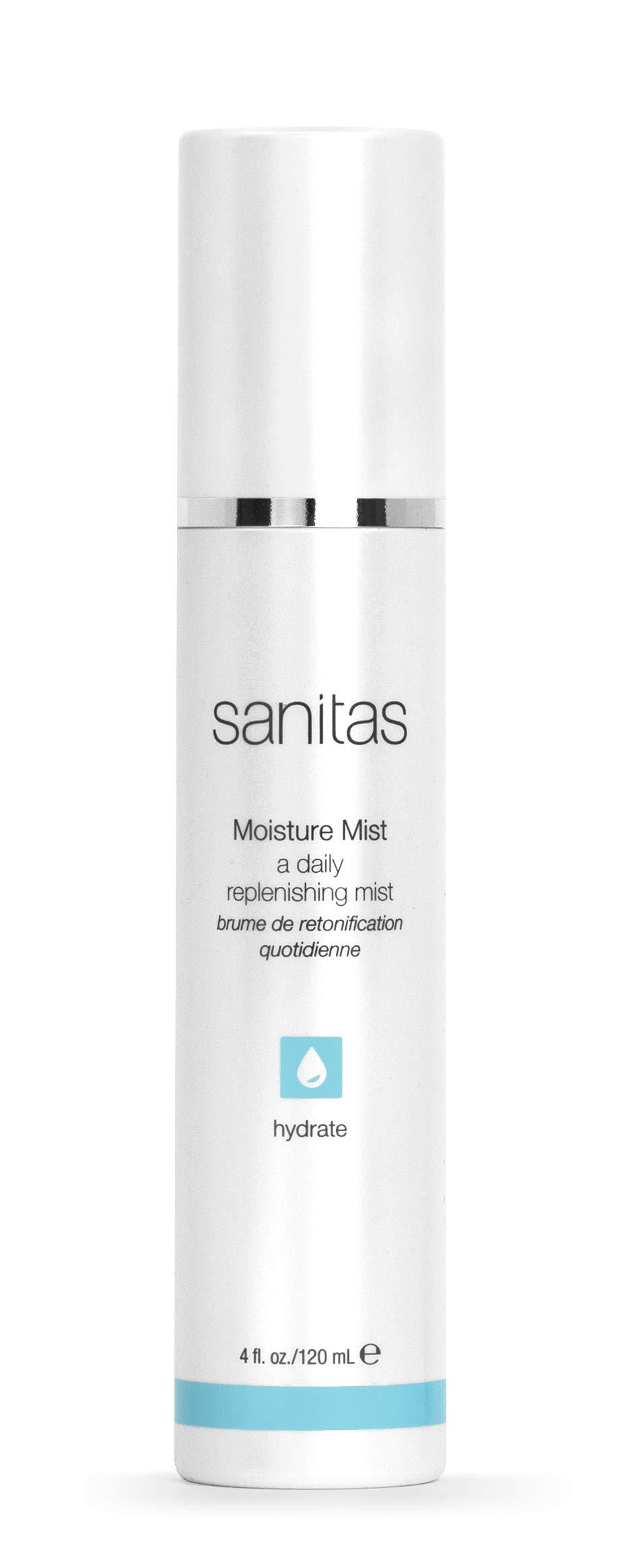 Sanitas Skincare Moisture Mist, Moisture Infusing Spray, 4 Ounces