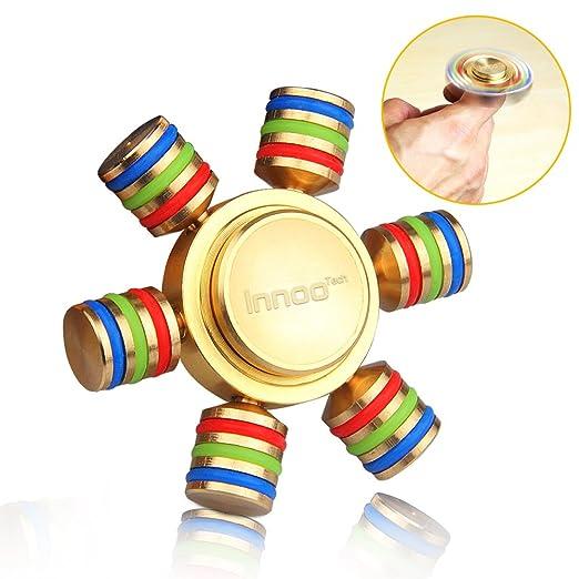 16 opinioni per Fidget Spinner | Spinner Metallo | InnooTech Spinner Antistress | 6 Ali Bracci