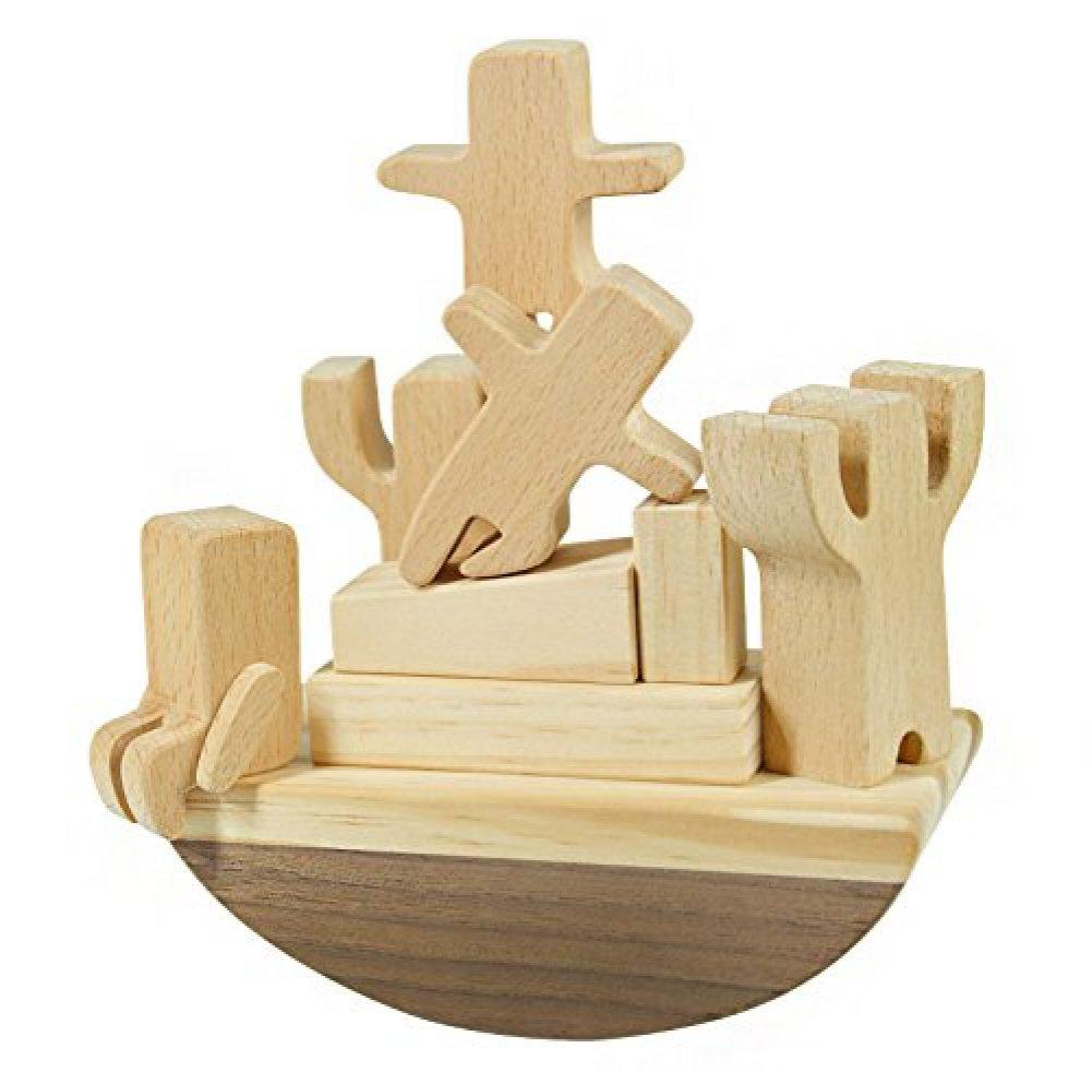 人気定番 [カーペンター]Carpenter Educational Wooden Toy Boat Balancing TCAPTR004 Game Set B01IE9WL2I Toy with Cute Tiny Stacking Blocks TCAPTR004 [並行輸入品] B01IE9WL2I, シェシェア【xiexiea】:9861baab --- dou13magadan.ru