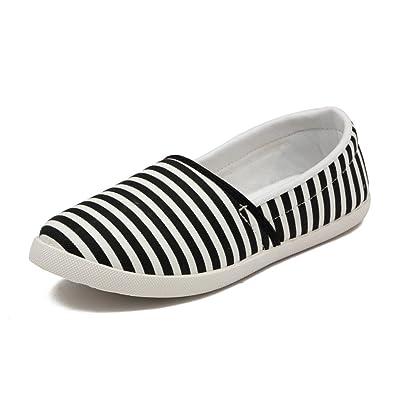 e5a6f004b8fb7 Asian shoes LR-93 Black Canvas Ladies Shoes