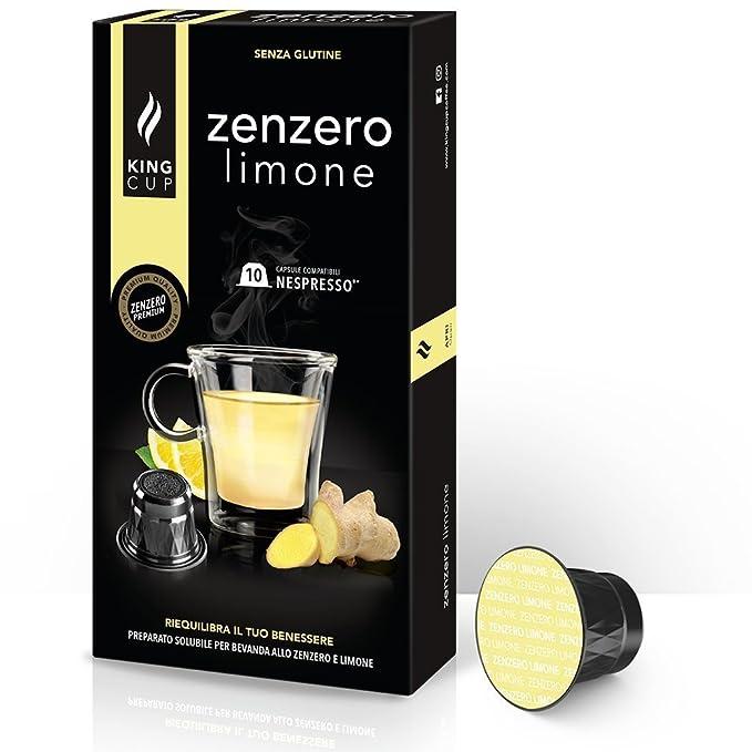 1 opinioni per King Cup- Zenzero e Limone- 1 confezione da 10 Capsule Compatibili Nespresso®*