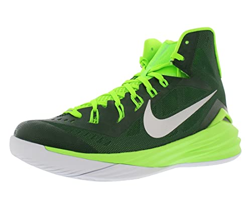 sports shoes 136e7 0dede Nike Hyperdunk 2014 Tb Men s Basketball Shoes Size US 13. 5, Regular Width,  Color Green Lime Silver  Buy Online at Low Prices in India - Amazon.in