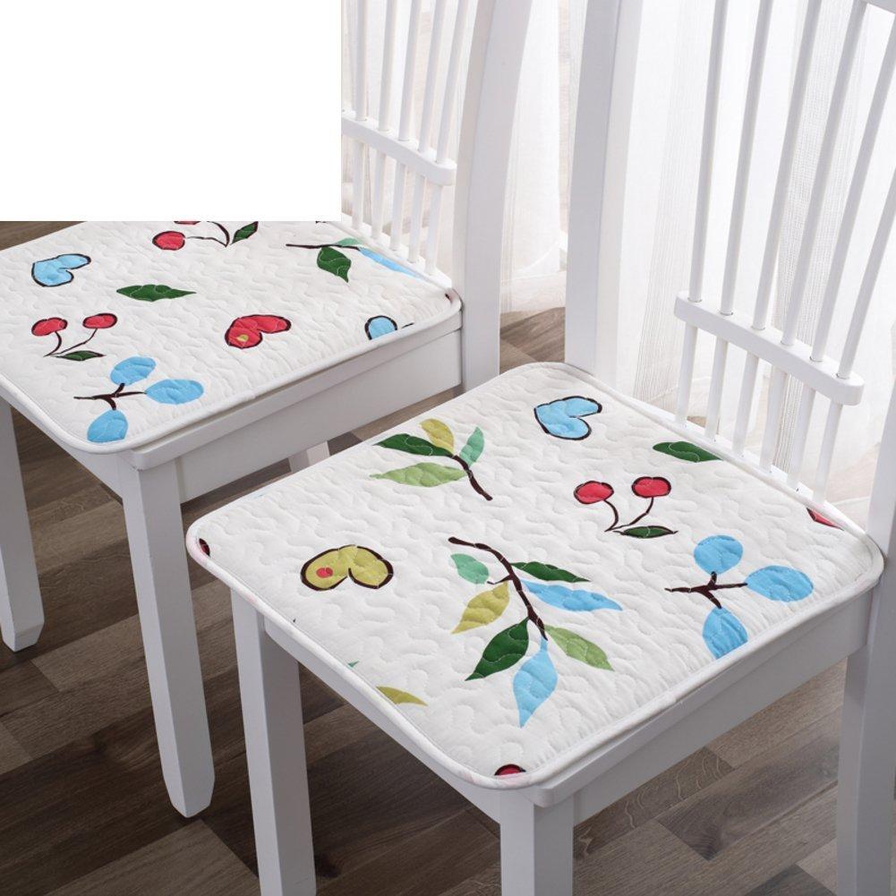 ccyyjjシートクッション学生グリーン、のクッション椅子のクッションオフィス椅子のクッションのダイニングルームの椅子100 %コットン冬のパッド入りマットstool-p 40 x 40 cm16 x 16 cm ) 45x45cm(18x18inch) 3304 B07CKJLZGQ 45x45cm(18x18inch)|J J 45x45cm(18x18inch)