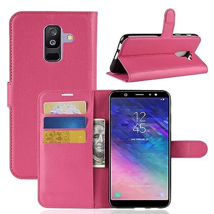 Amazon.com: Funda tipo cartera para Samsung A6 Plus (8), IVY ...