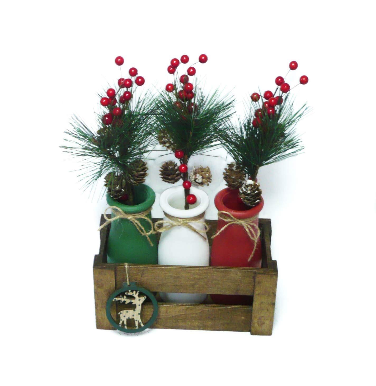 Arreglos navideños, centros de mesa, flores de pascua. Ideal ...