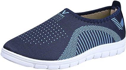 Men/'s Slip-On Water Shoes Mesh Non-Slip Walking Beach Casual Sneakers Big Size