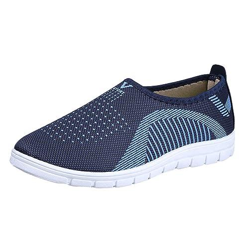 Zapatos Seguridad para Hombre,Zapatos Hombre Vestir, Calzado Casual para Hombre Calzado Deportivo Zapatillas CóModas Calzado Mocasines Zapatos: Amazon.es: ...
