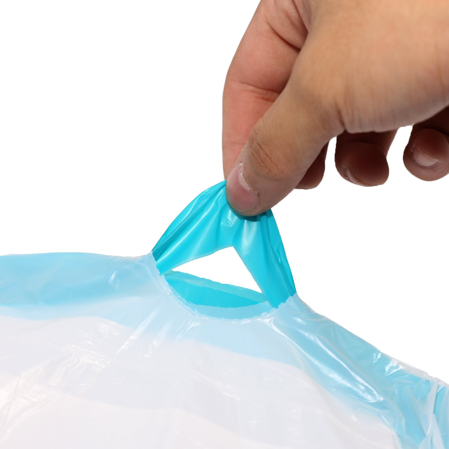 Topgalaxyz 4 Gallon Trash Bag 11 Mil Extra Strong Tissue Air Galon Small Garbage Bags Clear For Bathroom Kitchensize177 X 1968