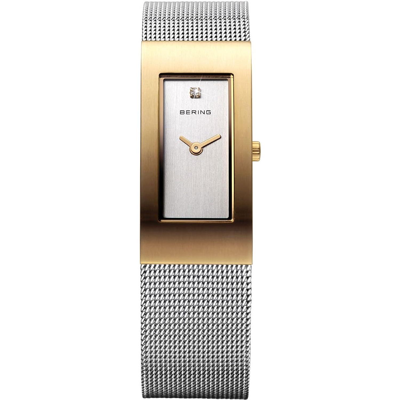 Bering Time Damen-Armbanduhr XS Classic Analog Quarz Edelstahl 10817-001
