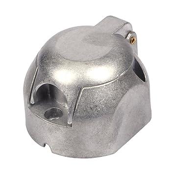 Anhänger Steckdose 7-polig schwere rund Pin 7-Verkabelung Buchse 12 ...