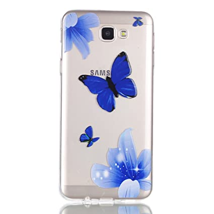 All Do Carcasa Samsung Galaxy J5 Prime Funda Flexible de TPU Carcasa de Silicona Suave Funda Ultra Delgado Carcasa Transparente Claro para Samsung ...