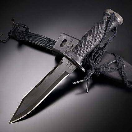 Amazon.com: Ontario Cuchillos 497 Azul Marino – Cuchillo de ...