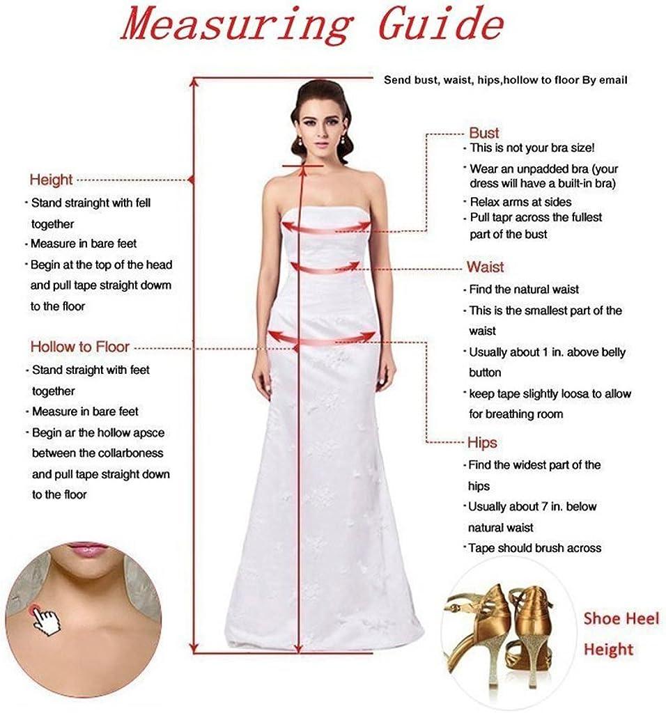DZdress Womens Sleeveless Open Back Long Wedding Dress Bridal Gown