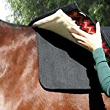 Professionals Choice 30X30 Equine Saddle Pad Liner (Black)