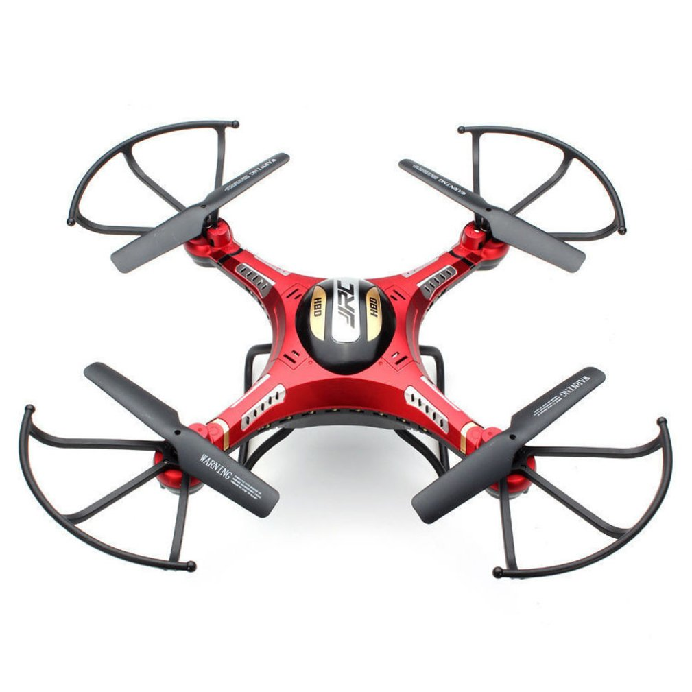 Nesee JJRC H8D 6-Axis Gyro 5.8G FPV RC Quadcopter Drone HD Camera With Monitor (Red)