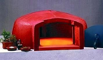 Outdoor Küche Mit Steinofen : Große outdoorsteinofen und pizzaschalen stockfoto und mehr bilder