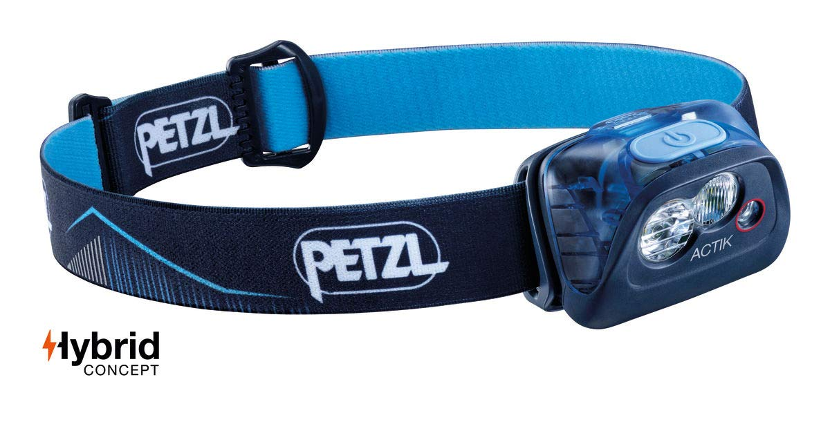 PETZL – ACTIK Headlamp, 350 Lumens, Active Lighting