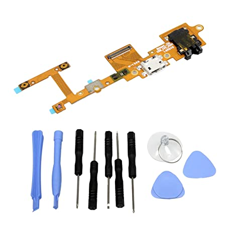 Amazon.com: GinTai USB Charging Port Flex Cable Connector ...