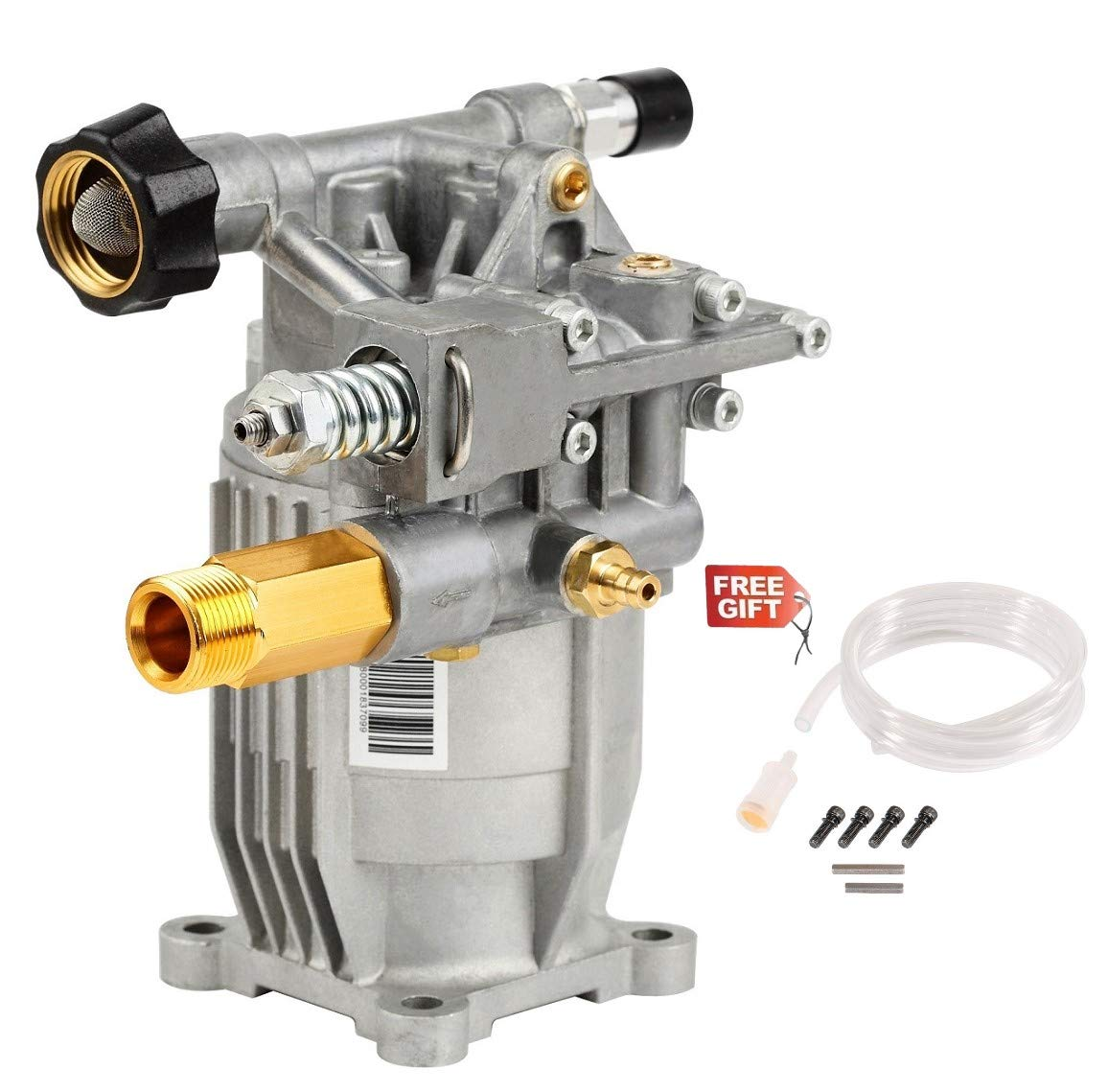 YAMATIC Horizontal Pressure Washer Pump 2900 PSI 2.3 GPM 6.5HP 3/4'' Shaft Replacement fit for Himore 309515003 308418007 Honda GC160 Karcher K2400HH G2400HH Troy-Bilt 020242 UT80522 Generac Powerstrok by YAMATIC