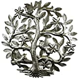 Croix des Bouquets 14 inch Tree of Life with Birds Wall Art For Sale