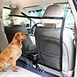 KYC Dog Car Carrier Anti-collision Adjustable Mesh Net Barrier Auto Barrier Safety Isolation Net - Pet Protection in Cars