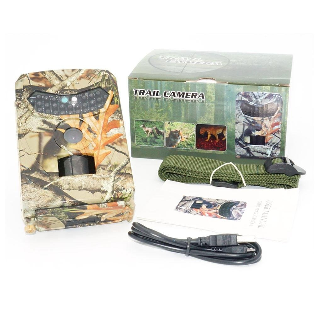 Biback Outdoor Hunting Camera,110 Degree PIR Angle, by Biback