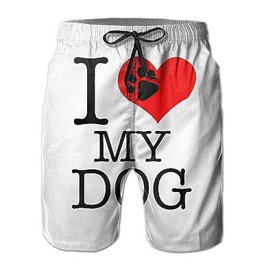 Nisdsh Beach Yoga Pants I Love My Dogs Foot Miami Cute ...