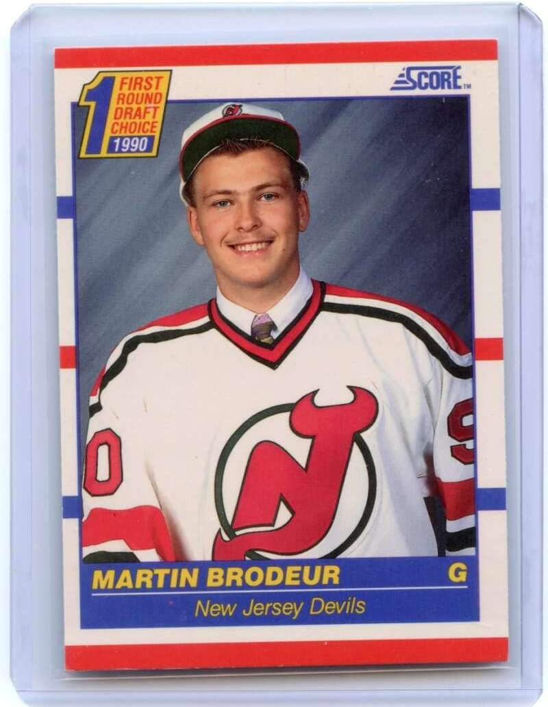 Martin Brodeur Rookie Card 1990-91 Score #439 New Jersey Devils Ships in Mint Brand New Holder