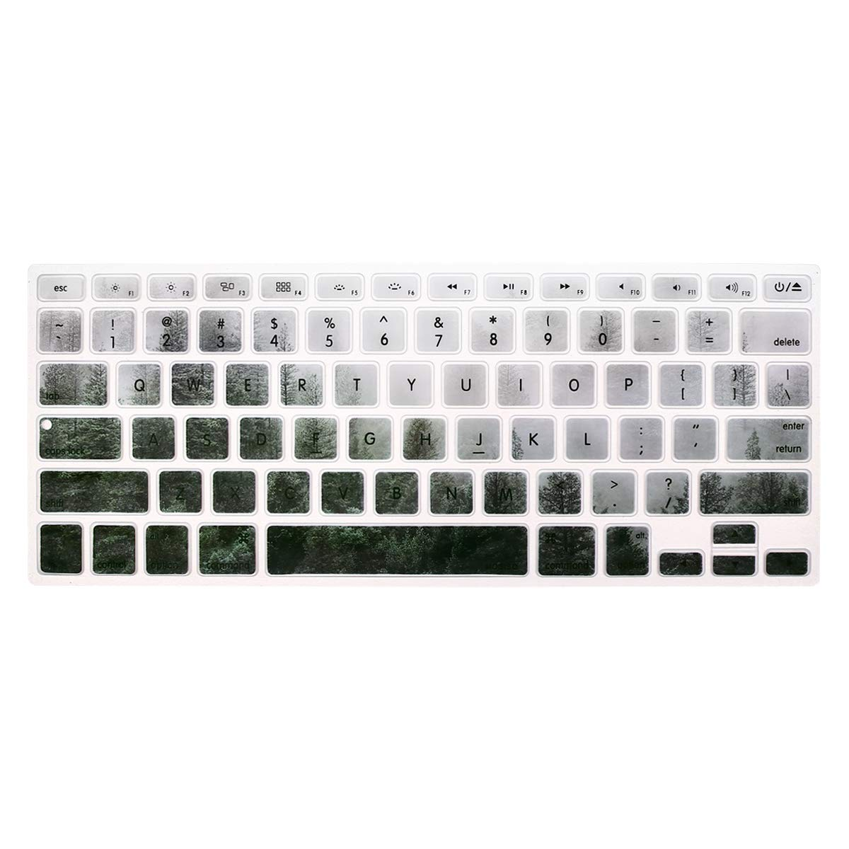 MOSISO Pattern Keyboard Cover Compatible with MacBook Pro 13//15 inch with//Without Retina Display,2015 or Older Version A1466//A1369,Release 2010-2017 ,Older MacBook Air 13 inch Great Sea Wave