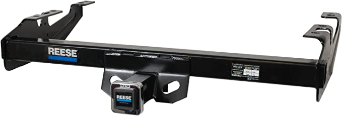 Reese Towpower 44661 Class III Custom-Fit Hitch with 2 Square Receiver Opening Includes Hitch Plug Cover
