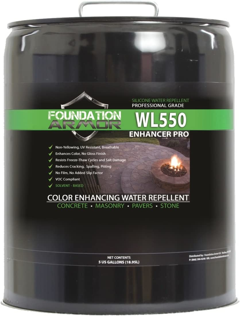 Foundation Armor WL550 Wet Look Enhancer Sealer
